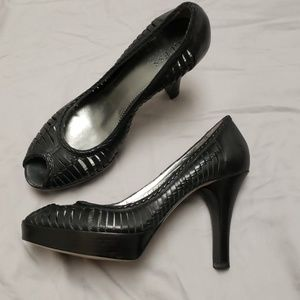 Guess platform high heel sexy black swreasonably
